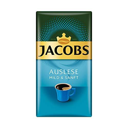 Jacobs Filterkaffee Auslese Mild und Sanft, 12er Pack, 12 x 500 g gemahlener Kaffee