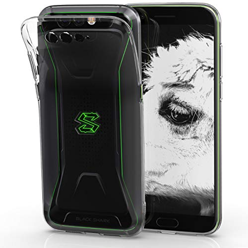 kwmobile Xiaomi Black Shark Hülle - Handyhülle für Xiaomi Black Shark - Handy Case in Transparent