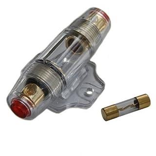 KFZ Auto Car HiFi Sicherungshalter & Sicherung AGU für Endstufe Verstärker vergoldet inkl. 60A