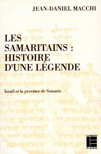 Les Samaritains : Histoire d'une lgende, Isral et la province de Samarie