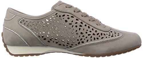 Gabor Shoes Gabor, Scarpe Derby con lacci donna Grigio (Grau (visone (gel.)))