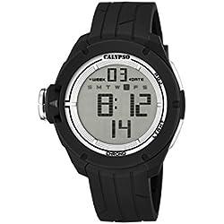 Calypso watches Herren-Armbanduhr XL Digital Digital Quarz Plastik K5657/1