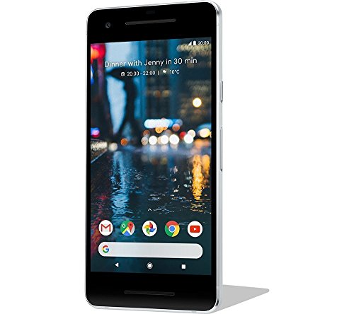 Google Pixel 2 64GB clearly white LTE 5 Zoll - Google-smartphone
