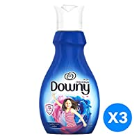 Downy Concentrate Fabric Softener Antibac 1L, bundle 2+1 Free