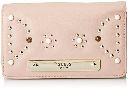Guess Damen SLG Wallet Geldbörse, Pink (Nude), 2x10x20 Centimeters