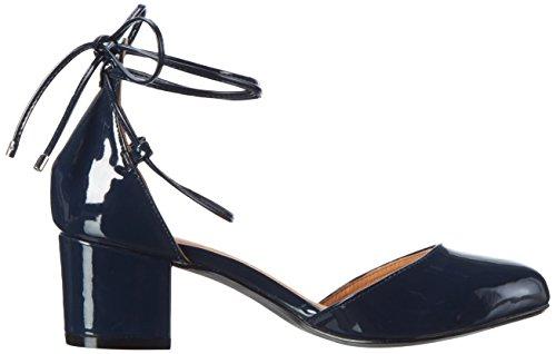 Bianco Damen Open Shoe  Exp16 Mary Jane Halbschuhe Blau (Navy Blue 30)