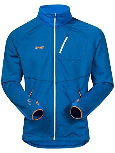 Bergans Galdebergtind Jacket Men - Fleecejacke ocean/athensblue/pumpkin
