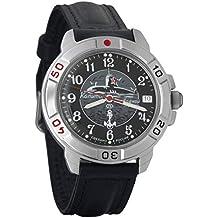 Vostok Komandirskie 2414A/431831 - Reloj de Pulsera para Hombre, mecánico, Militar,