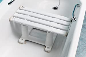 NRS Healthcare MedeciA Width Adjustable Bath Seat - 30 cm (12 inches) Height