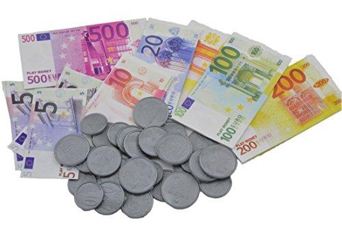 - Spielgeld-Set - 100-teilig - für den Kaufladen oder die Kinderküche. Insgesamt 8865€