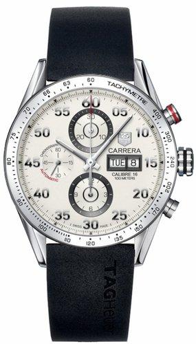 Tag Heuer Carrera de la fecha del día del reloj de los hombres, Ft6005 Cv2A11