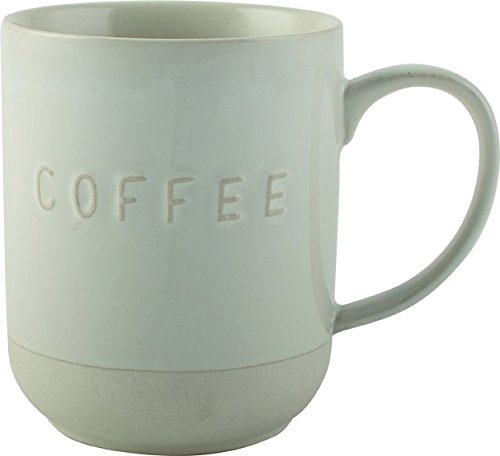La Cafetiere-Cafetera de émbolo Origins rústico, taza de café, color blanco