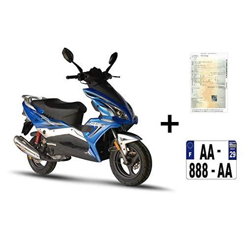 Scooter Matador 50cc 4T Bleu + IMMATRICULATION Euro4