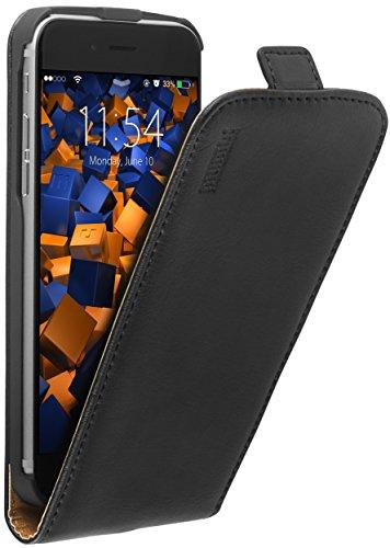 mumbi PREMIUM Leder Flip Case für iPhone 6 6s Tasche Premium Flip Case
