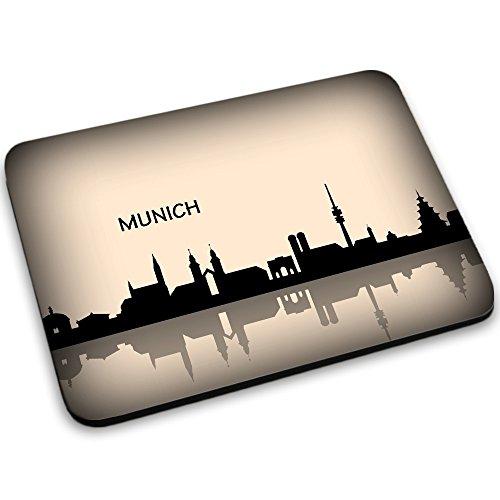 viaje-munich-voyage-designer-alfombrilla-de-ratn-mouse-mouse-pad-con-diseo-colorido-tamao-250-x-190-
