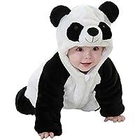 zhouba baby jungen madchen winter warm cute panda kostum fur neugeborene kleinkind kleinkinder one peice