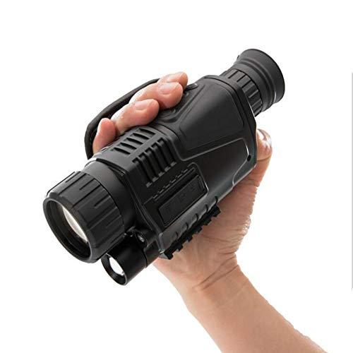 KCaNaMgAl HD-Teleskop, Einzelrohr 200m Nachtwache 5-Fach Multifunktionskamera-Video tragbar