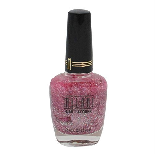 Milani 1 Coat Glitters Nail Lacquer - Pink Flare by Milani