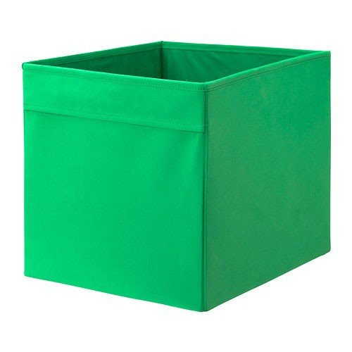 IKEA DRÖNA Box für EXPEDIT Regal; in grün (33cm x 38cm x 33cm)