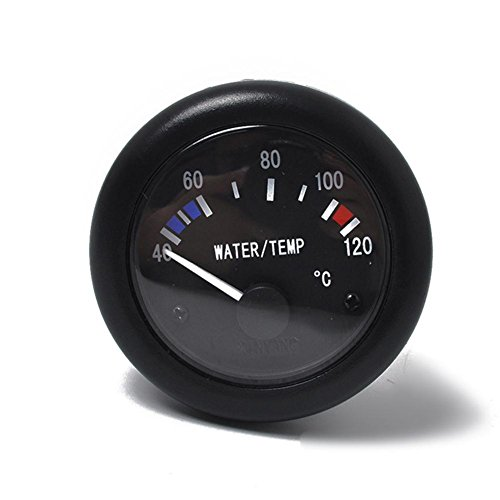 Wasser Temperaturanzeige mit 120 NPT3/8 Sensor für boot, 40-120°C, 12 Volt, Ø 52 mm