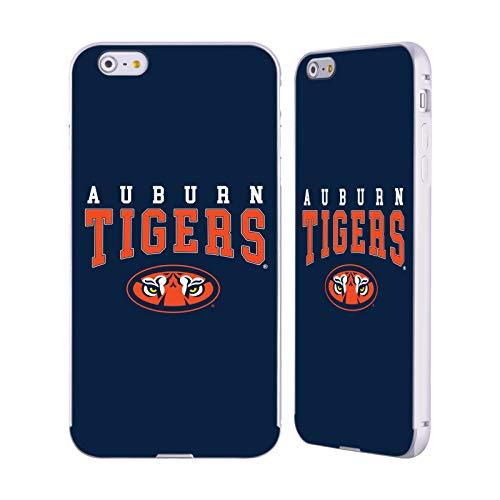 Head Case Designs Offizielle Auburn University AU Auburn Tiger Silber Aluminium Bumper Slider Huelle kompatibel mit iPhone 6 Plus/iPhone 6s Plus -