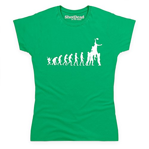 Rugby Evolution T-Shirt, Damen Keltisch-Grn