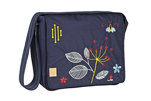 Preisvergleich Produktbild Lässig Casual Messenger Bag Wickeltasche/Babytasche inkl. Wickelzubehör Folklore navy