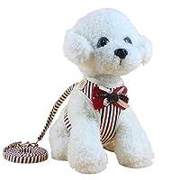 Pourquoi utiliser une harnais pour animaux de compagnie? Si vous utilisez un collier de chien traditionnel, cela rendra le chien difficile à respirer et très inconfortable. La conception minutieux réduit la pression de traction sur le cou de votre ch...