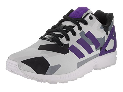 Adidas Youths ZX Flux Mesh Trainers white