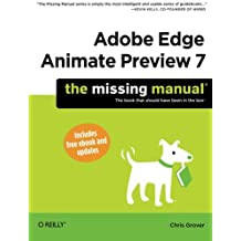 Adobe Edge Animate Preview 7: The Missing Manual (Missing Manuals)