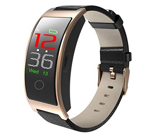 LRWEY CK11C 0.96inch Bildschirm Herzfrequenz Blutdruckmessgerät Pedometer Sport Watche, Für Android iOS