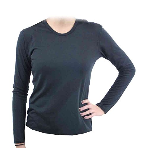 Hot Chillys Pepperskins Crewneck Top Womens Large -