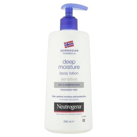 Neutrogena Norwegian Formula Deep Moisture Dry and Sensitive Body Lotion 250 ml