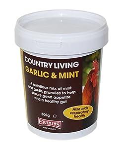 Granulés ail et menthe - Equimins - 500g