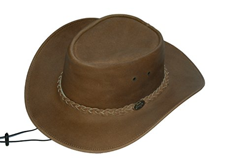 2ee2ea57051 Broome Cowhide Cowboy Hat with Chin Strap