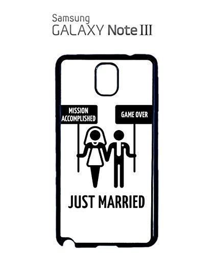 Mission Accomplished Game Over Just Married Mobile Phone Case Samsung Galaxy S4 Mini White Noir
