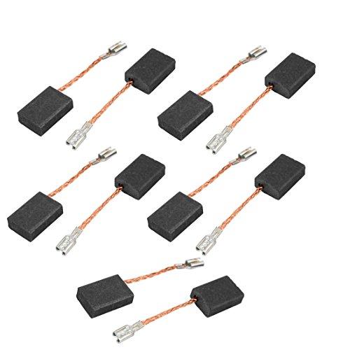 238af9b6191 sourcingmap® 5 pares de Escobillas de carbón de Motor perforación eléctrico  útil 5 x 10