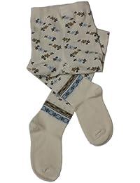 Weri Spezials Baby und Kinderstrumpfhose in Marine Etno Motiv