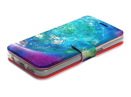 MOBIWEAR Book Style Handy Motiv Tasche Flip Case Cover Hülle für ASUS Zenfone Zoom S ZE553KL - MF05P