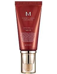 Missha M Perfect Cover N°31 BB Crème SPF42, 50ml, Beige doré