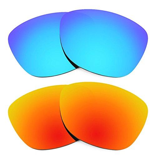 Revant Ersatzlinsen für Oakley Frogskins LX Polarisiert 2 Paar Kombipack K002