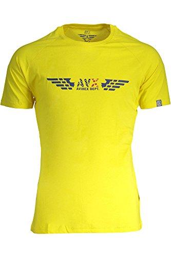 TS01BRI T-Shirt mit Kurtzen Ärmeln Harren Gelb 3-Echo M ()
