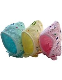 c2ded49e8d36c5 Kidska Soft Cotton Caps Gift Set for New Born Baby (Multicolor, 0-9