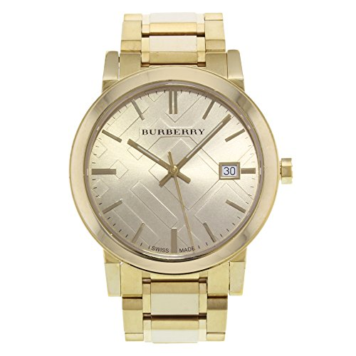 BURBERRY WOMEN'S 38MM GOLD-TONE STEEL BRACELET & CASE QUARTZ WATCH BU9038