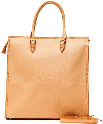 Borsa borsetta spalla tracolla donna sabbia safari alviero for Amazon borse firmate