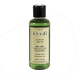 Khadi Pure Amla Hair Oil - 210 ml