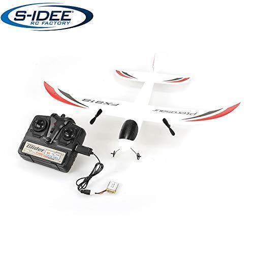 s-idee® 21004 Flugzeug FX818 Flieger Trainer rc ferngesteuert mit 2.4 Ghz Technik mit Lipo Akku