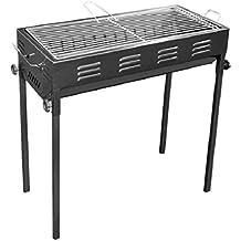 YONG@ Barbecue Barbecue per esterno grande portatile 66.5 * 30 * 70cm