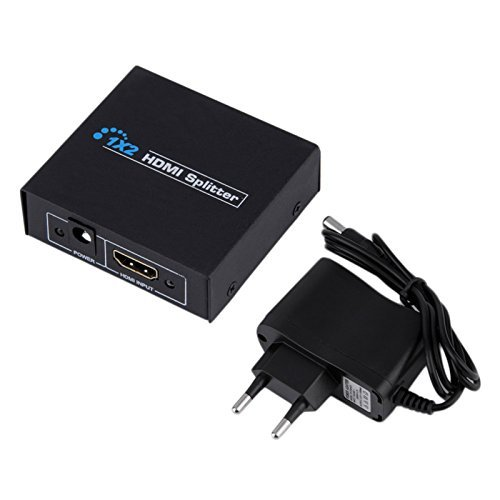 Splitter Aktiv Full HD 1080p Signal-Regenerierendes Splitter 1in 2hdmi Ausgänge Verstärker 4178A