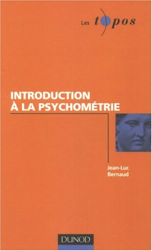 Introduction  la psychomtrie